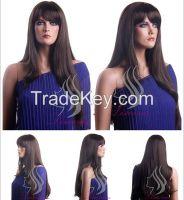 Lisaurus-J 2014 New Fashion Synthetic Straight Wig, Cheap Long Black S
