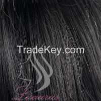 Lisaurus-J Unprocessed Virgin Brazilian Hair with Closure , 100% Brazilian Straight Hair Weave Bulk Hair Human With High Quality