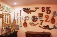 decorative display beach and nautical designed