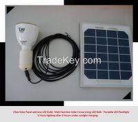 3W Emergency LED Bulb With Solar Panel Charging (LVL-SE03W)