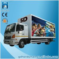 Electric/Hydraulic 12Special Effects Truck Mobile 7d Cinema System