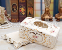 Rose tissue box