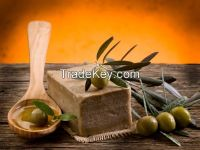 Greek Olive Oil Soap - with Olive Leaves.