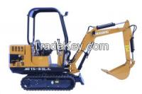 crawler excavator, 1.5, 2.2, 3Ton