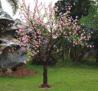 artificial led tree lights high simulation cherry blossom tree light