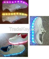 LED light sport shoes