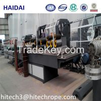 PP PE Rope Yarn Extruder Machine With High Output