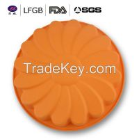 Hot sale high quality new style silicone cake molds