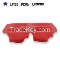 Factory price customized hello kitty shape silicone cake molds