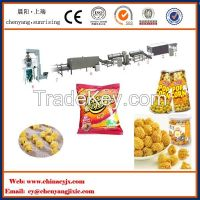 Hot air Continuous American caramel coated popcorn production line