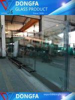 Clear toughened Dupont PVB/SGP laminated glass