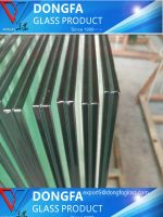 Jumbo size tempered laminated curtain wall glass