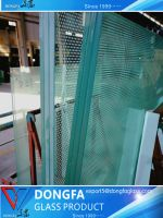 High performance Architectural laminated glass irregular shape custom
