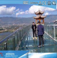 Toughened SGP laminated glass bridge