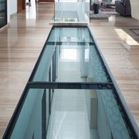 Price of Glass Floor in The Hallway, Safety Clear Sgp Laminated Glass with Sentryglas Certificate