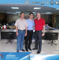 Toughened SGP laminated glass China supplier