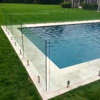 high safety clear tempered glass pool fence,glass pool fence price