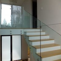 10mm clear tempered frameless glass railing price per square metre