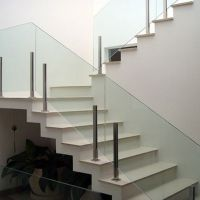 Tempered safety glass railing glass balustrade