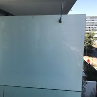 safety colored&clear laminated glass terrace railing designs 10mm translucent laminated glass price