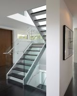high safety clear tempered glass railing with SGCC certificate