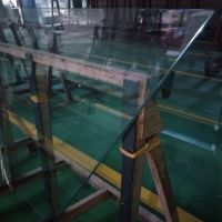flat shape and bulletproof function clear SGP laminated glass with SGCC certifacation