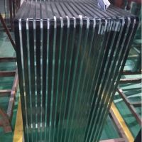 flat shap and clear decorative glass 10mm 15mm tempered glass price per squre meter