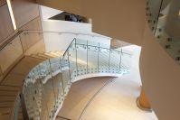 Frameless Balustrade Glass Design Clear Toughened Glass 10mm 12mm for High Grade hotel