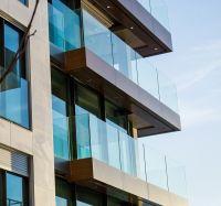 Clear Sgp Laminated Glass Balcony Terrace Railing Designs Glass Price Per Square Meter