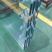 low iron tempered float glass panles