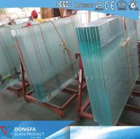 25.52mm Ultra Clear VSG glass balustrade with ceramic frit