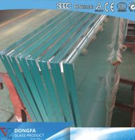 VSG balustrade glass with Ferro Obscure color