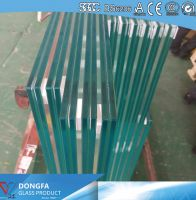 25.52mm ultra clear VSG ceramic frit balustrade glass