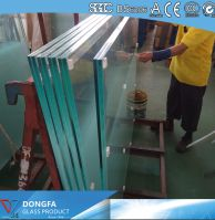 13.52mm Sgp Clear Glass Laminated Railing Glass Price Per Square Meter