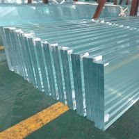 Low Iron Laminated Glass 10mm 15mm for Buildings