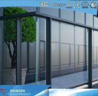 Extra Clear Sentryglas Laminated Railing Glass Price Per m