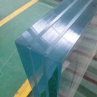 Exterior Super Thick Swimming Pool Wall Laminated Safety Clear Tempered Glass