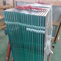 High Safety Frameless Balcony Balustrade Handrail Ultra Clear Tempered Glass
