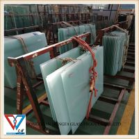 High quality Milky White 55.2 66.2 laminated glass for residential and commercial building glass