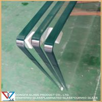 Low iron Glass 12mm 15mm 19mm thick for buildings