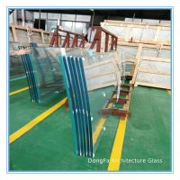 Luxury High security topless Laminated safety glass for high-rise glass railing