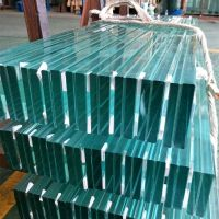 Tempered laminated glass for commercial Project and Channel glass system