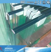 Edge aligned Sentryglas laminated glass China supplier