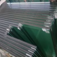 commercial stainless steel tempered laminated safety glass railings