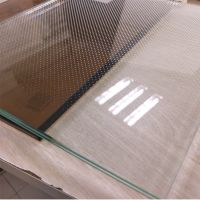 clear Frameless Safety Tempered Laminated Glass Panels 13.52mm for Infinity railings