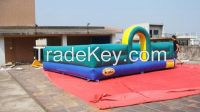 inflatable bouncers slide