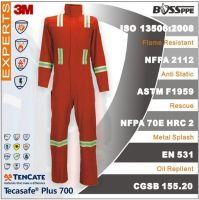 TenCate Tecasafe Plus700 Flame resistant anti electrostatic 3M Reflective