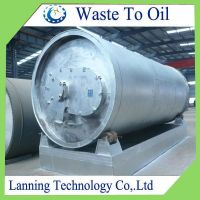 ECO-FRIENDLY WASTE TIRE /RUBBER /PLASTIC PYROLYSIS PLANT WASTE TO OIL PLANT