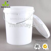 20L plastic pail Screw Lid