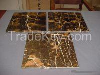 Black & Gold Marble Tiles, Slabs, Blocks